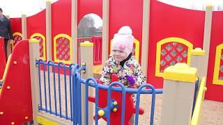 Открытие новой детской площадки в Норском. Игровая площадка-корабль в Ярославле