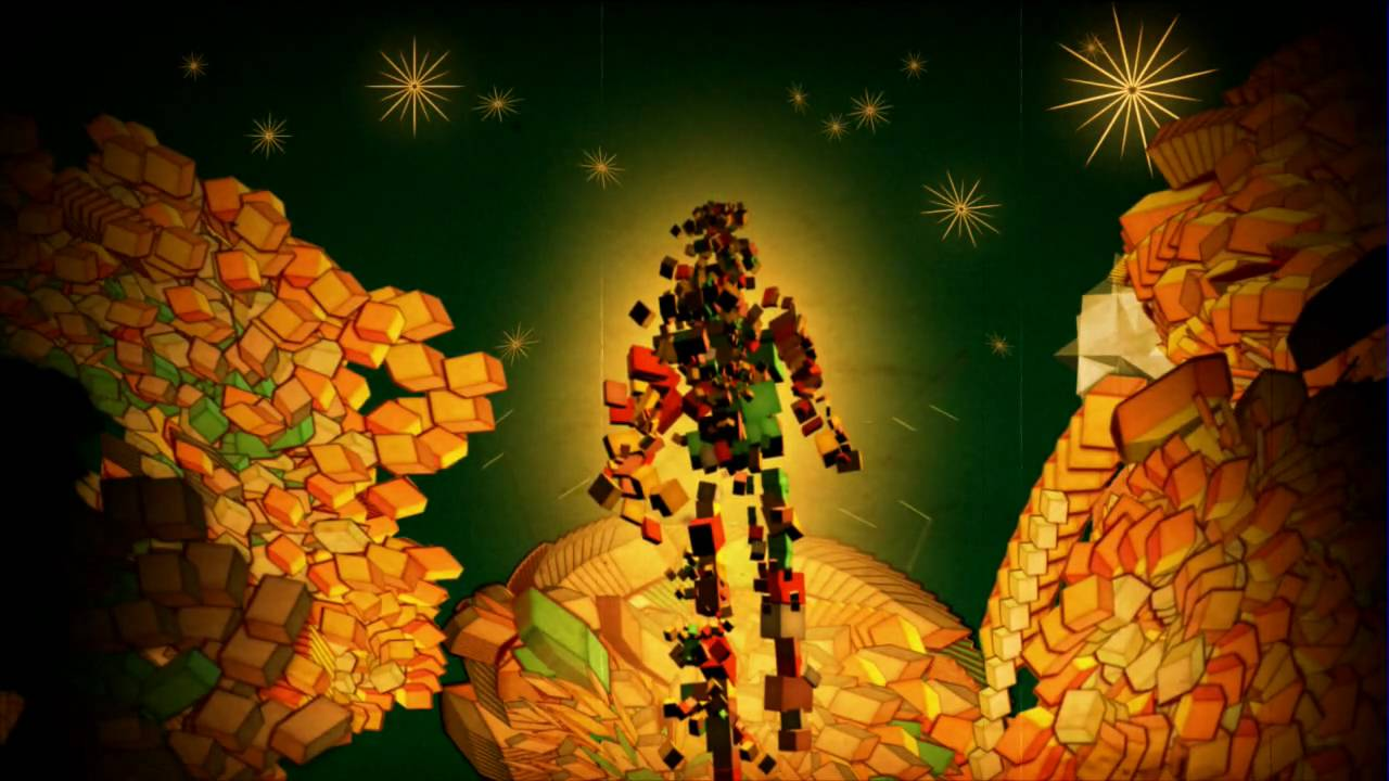 """Rich Hamelin """"Man Of Many Colours"""" animation by Davide Di Saro'"""