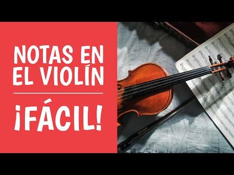 2. Aprende las NOTAS EN EL VIOLÍN Paso a Paso (Curso y Clases de violín)