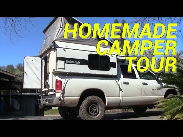 770P Travel Lite Pop Up Truck Camper with Electric Lift Roof