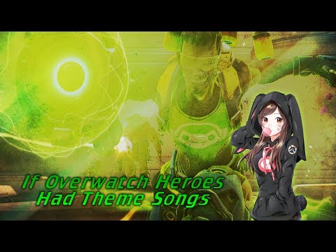 If Overwatch Heroes had ACCURATE THEME Songs (Including Orisa)