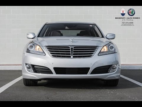 Overview 2014 Hyundai Equus Signature Features Options