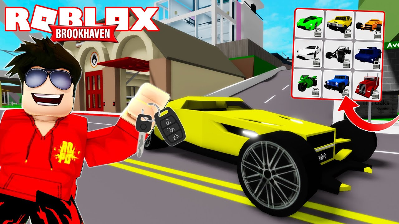 UNLOCKING* The Best Cars in Roblox BROOKHAVEN YouTube