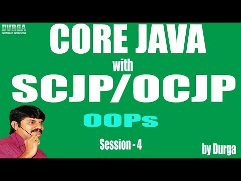 Core Java With OCJP/SCJP: OOPs(Object Oriented Programming)Part-4 ||overloading