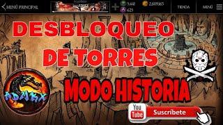 COMO DESBLOQUEAR LAS TORRES DEL MODO HISTORIA EN MORTAL KOMBAT X CON GAME GUARDIAN