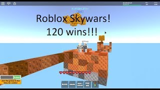 Roblox Skywars|I got to 120 wins!