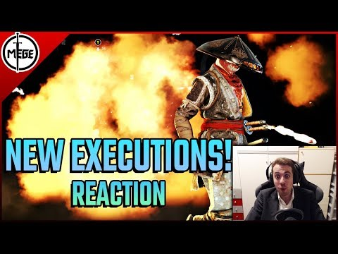 THESE ARE ALL SO AMAZING! - New Exe Reaction [For Honor]