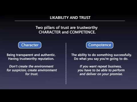 People Skills: Likability and Trust