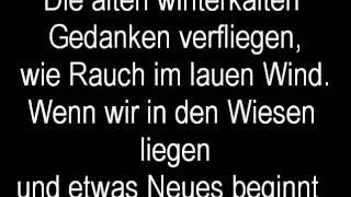 Sportfreunde Stiller Frühling (Lyrics)