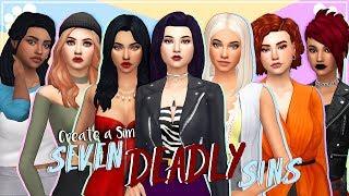 SEVEN DEADLY SINS | The Sims 4 | Create a Sim + cc list & sim download