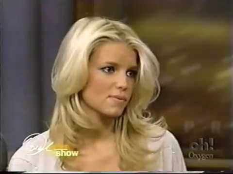 Nick Lachey & Jessica Simpson on the Oprah Aftershow 12/29/03