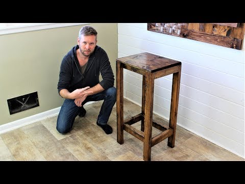 The $20 Bar Stool - Easy DIY Project