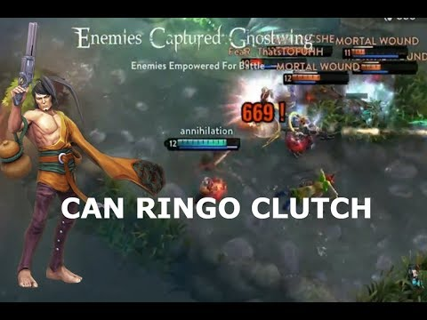 CAN RINGO CLUTCH? Vainglory 5v5