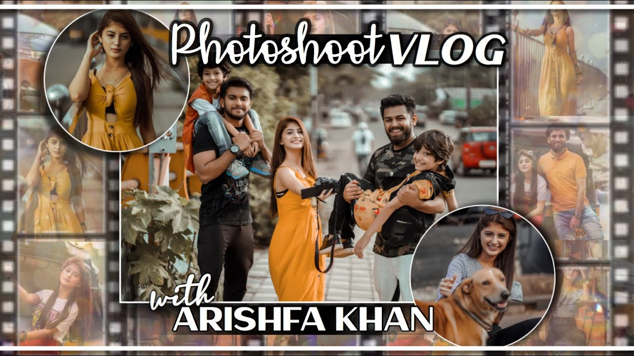 Photoshoot Vlog | Arishfa Khan