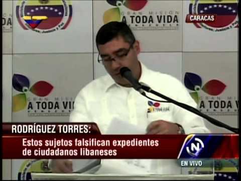Rueda de prensa de Miguel Rodríguez Torres sobre pilotos, Cadivi, Italcambio, Bco Venezuela