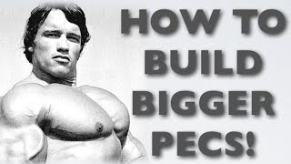 How To Build Bigger Pecs - Pectoral Muscle Workout