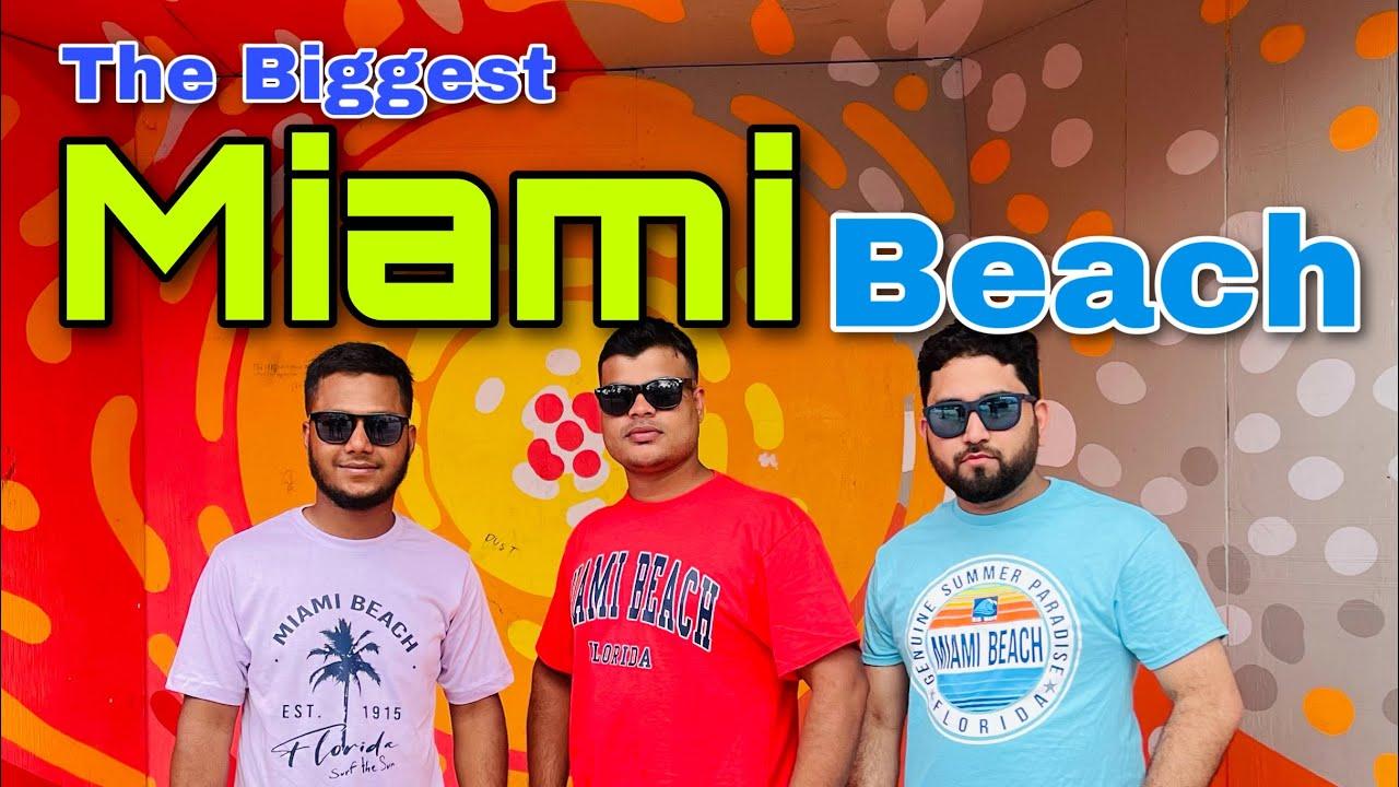 Download The Biggest Miami Beach || মিয়ামী সৈকতের বিশালতা || Florida || Weekend Vlog || 4K || 2021