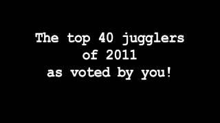 Top 40 Jugglers of 2011 results video