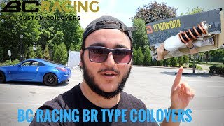 ep30 vlog i getting bc racing coilovers for my 350z bc racing br type nissan 350z