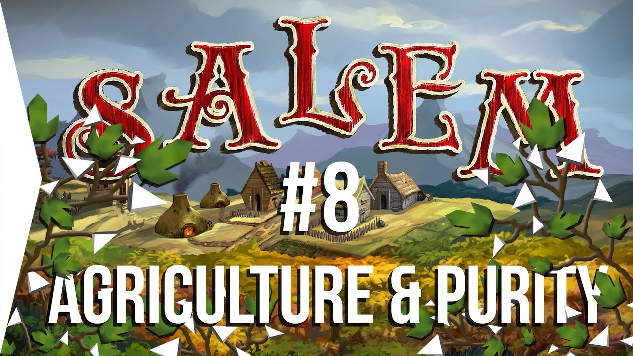 Surviving Salem #8: Agriculture U0026 Purity Basics ▻ Crafting MMO Game