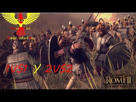 Rome 2 Total War Batallas Multijugador (2vs2 y 1vs1)