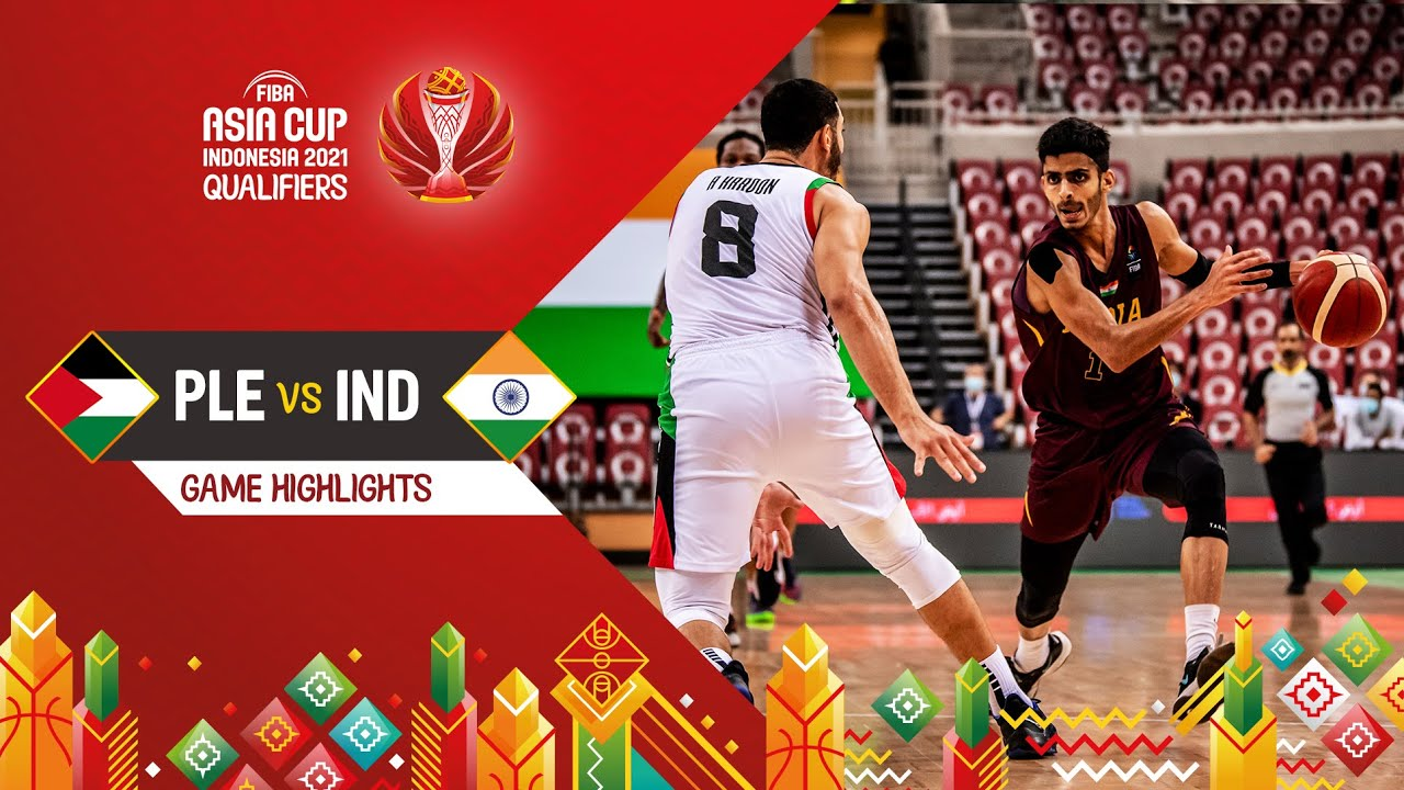 Palestine - India | Highlights - FIBA Asia Cup 2021 Qualifiers
