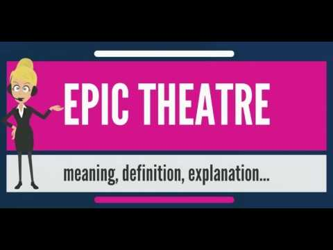 Epic theatres kevin broccoli invites public to watch him write a what is epic theater what does epic theater mean epic theater meaning definition stopboris Image collections