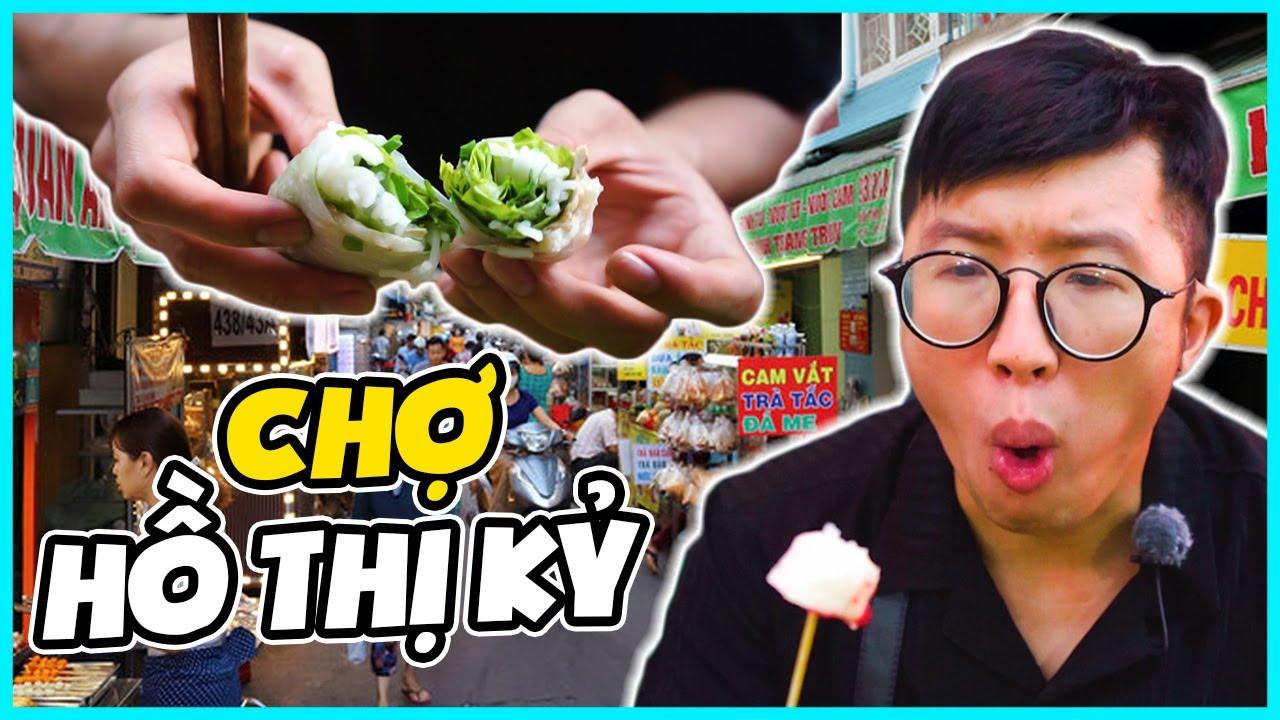 Ăn Sấp Mặt Tại Khu Phố Siêu Ẩm Thực Khét Tiếng Quận 10 TP.HCM   WarZone Vlog