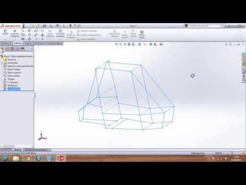 Solidworks - Como desenhar a Gaiola do Baja em 3d