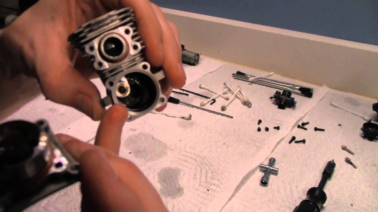 rc overload traxxas revo 3 3 nitro motor cleaning re assemble rh youtube com Traxxas T-Maxx 2.5 Parts Diagram T-Maxx 2.5 Parts List