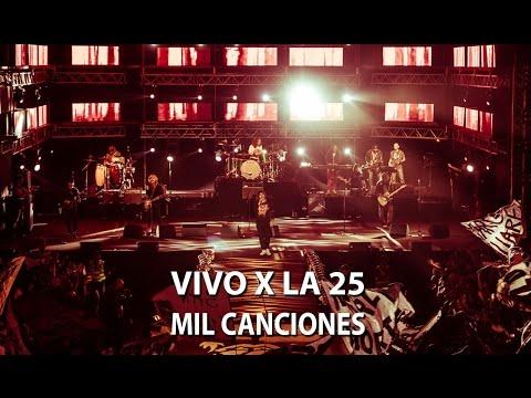 La 25 presenta Mil canciones en vivo