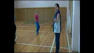 Урок ритмики в Лашманской школе