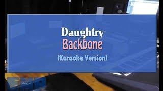 Daughtry - Backbone (KARAOKE VERSION NO VOCAL)