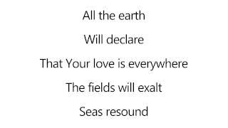 All the earth - Parachute Band [lyrics]