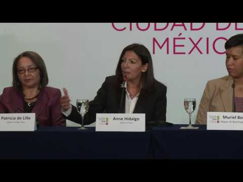 C40 Mayors Summit Press Conference: Women4Climate Initiative