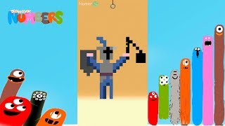 Fun Mediveal Part 2 Puzzles - DragonBox: Numbers (iPad, iPhone, Android). Fun game for kids.