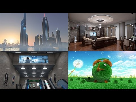 Projects in Maxon Cinema 4D Preview