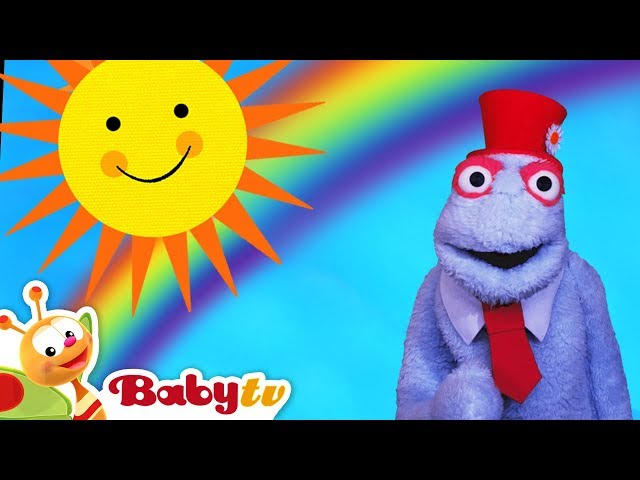 Yellow Sun and Blue Sky We. Like to Fly | BabyTV