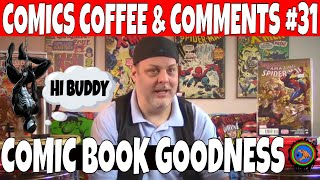 Comics Coffee & Comments #31, Carnage Comics and other Key Comic books to get. CGC Comics