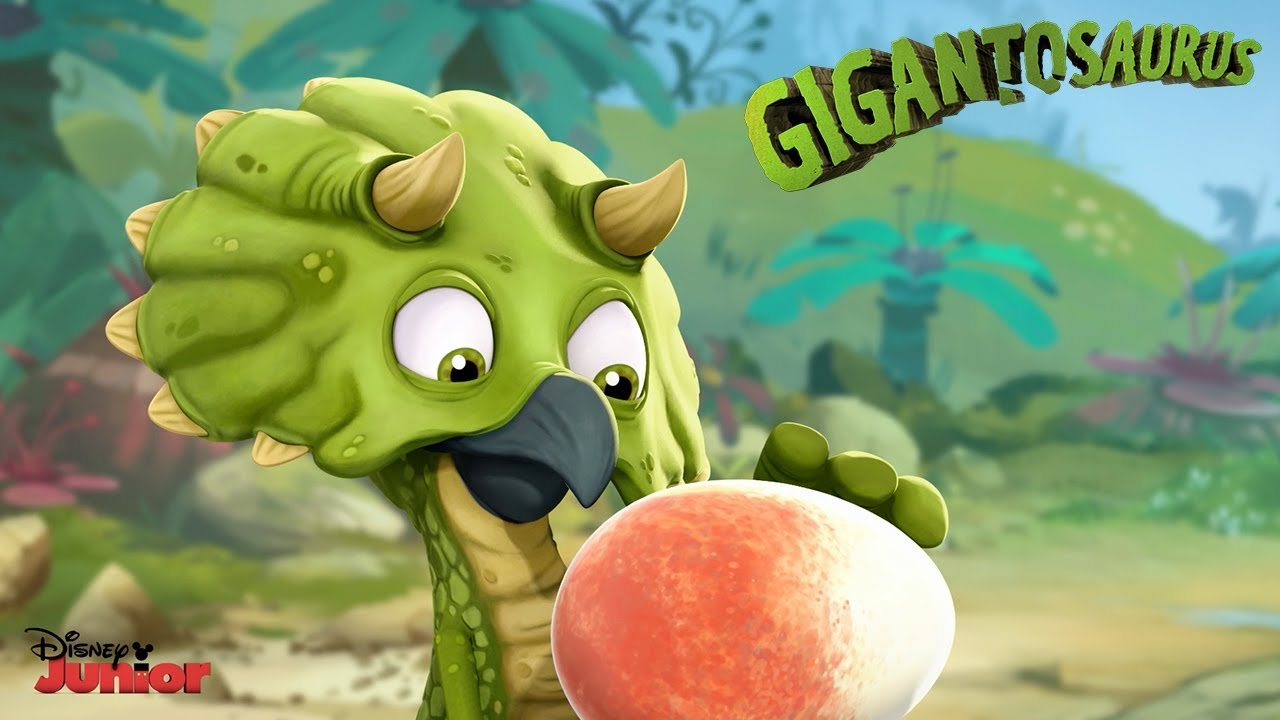 The Egg Gigantosaurus Disney Junior Youtube