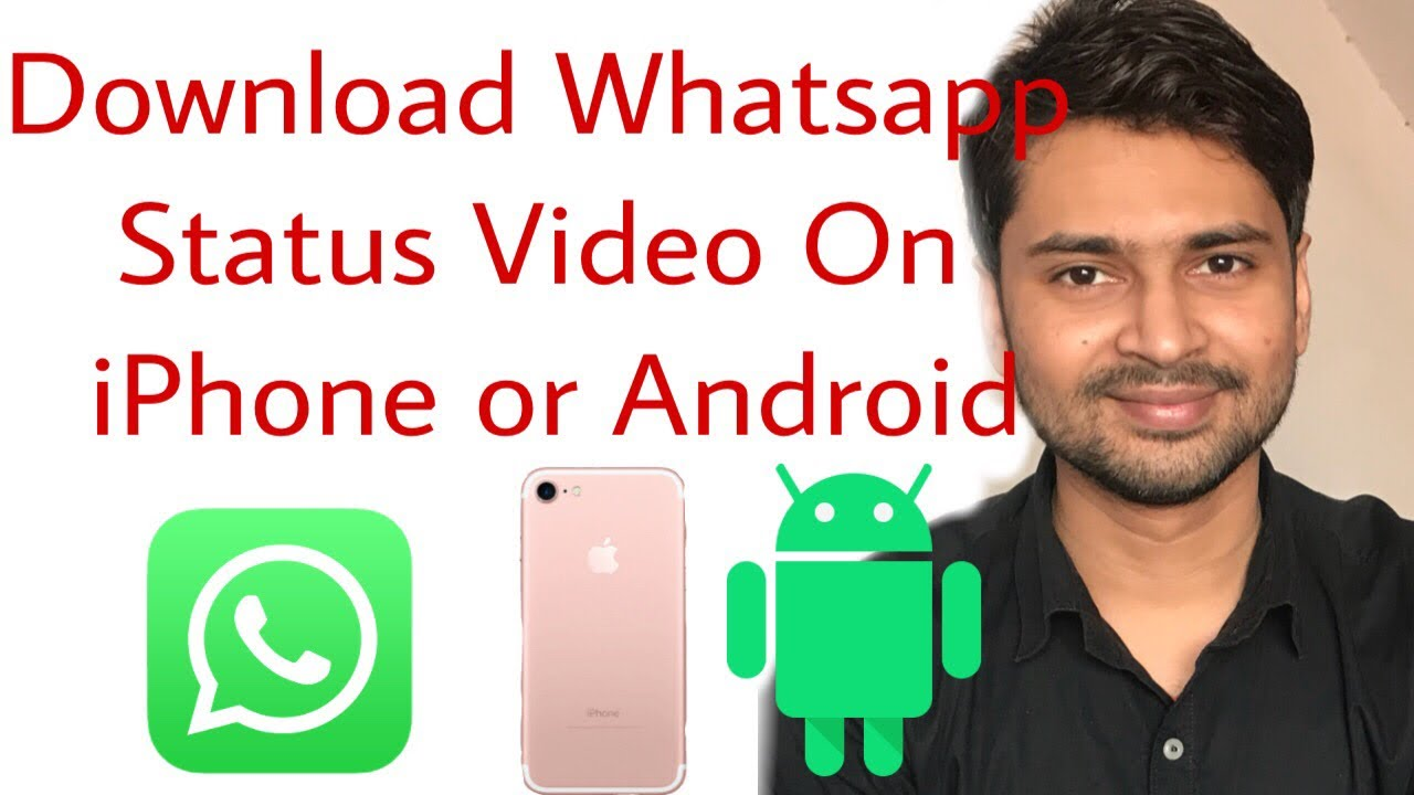 How To Download Whatsapp Status Video In Iphone Without