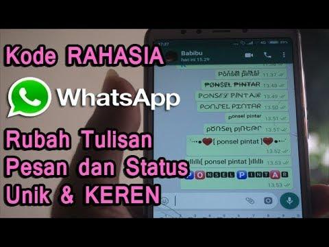 Aplikasi whatsapp saat ini sudah tidak asing lagi bagi seluruh masyarakat di dunia bahkan di indones.