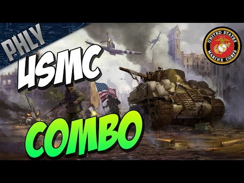 War Thunder Tanks - M4A2 American STEAL & USMC AIR COVER!