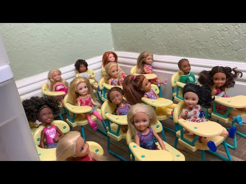 Barbie-  First Day of School