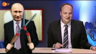 Heute-Show: Немцы о выборах Президента РФ (рус).