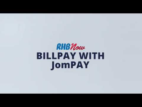 RHB Now Tutorial (6/9): RHB Now BillPay with JomPay