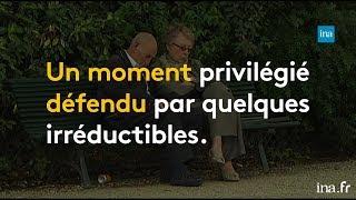 Sieste : une pratique défendue depuis des décennies   Franceinfo INA