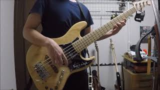 この曲弾いててスゴク楽しいです。 Bass:Xotic xj-1t.