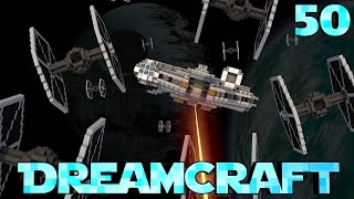 "Minecraft | Dream Craft - Star Wars Modded Survival Ep 50 ""GALACTIC SPACE WAR"""