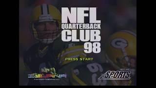 NFL QB Club 98 N64 Gameplay - Jets vs Broncos